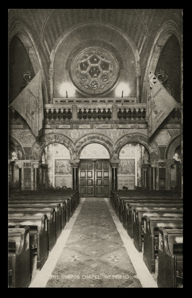 Raphael Tuck & Sons (British) 'The Guard's Chapel, West End' Nd