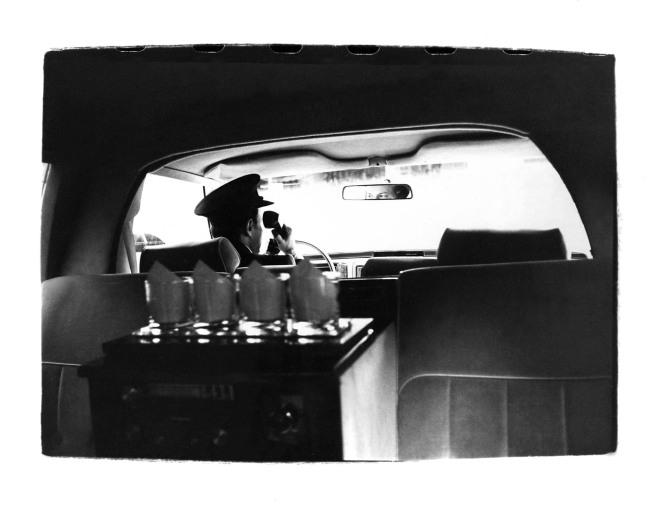 Andy Warhol (1928-1987) 'Limousine Interior' c. 1980