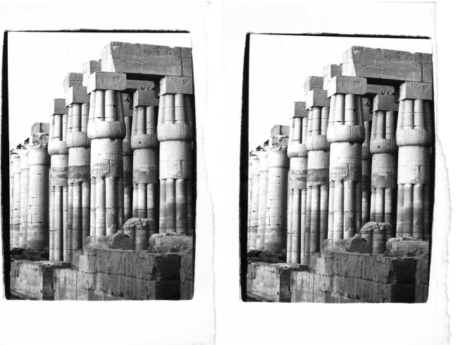 Andy Warhol (1928-1987) 'Luxor Temple' c. 1977