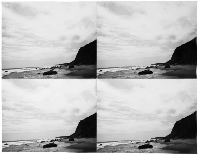 Andy Warhol (1928-1987) 'Ocean Landscape' 1986