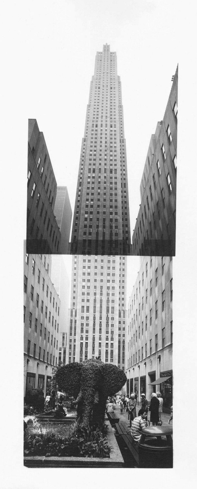 Andy Warhol (1928-1987) 'Rockefeller Center' c. 1984