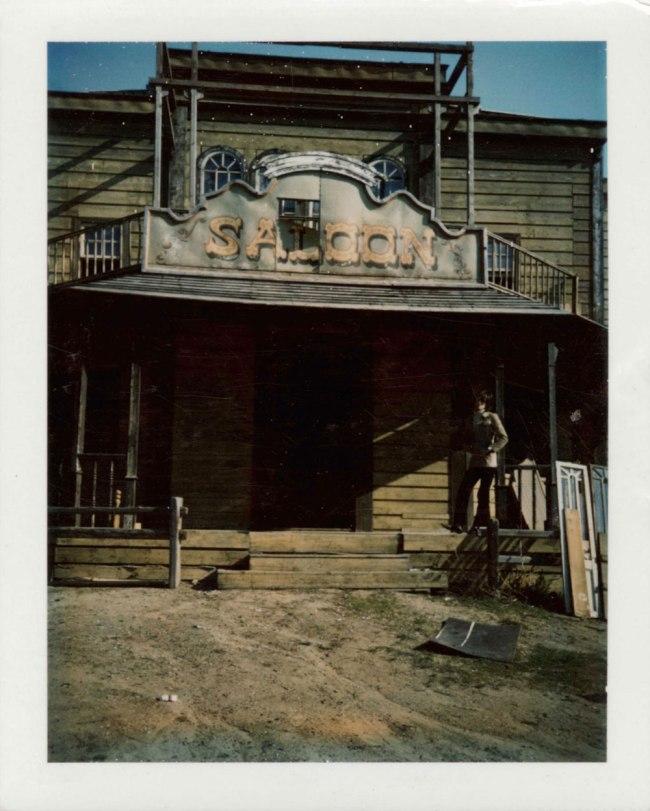 Andy Warhol (1928-1987) 'Max Delys at the Saloon' c. 1980