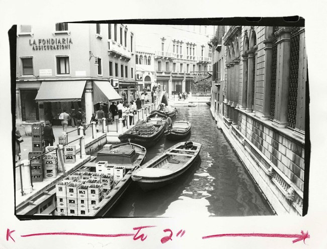 Andy Warhol (1928-1987) 'Venetian Canal' 1977