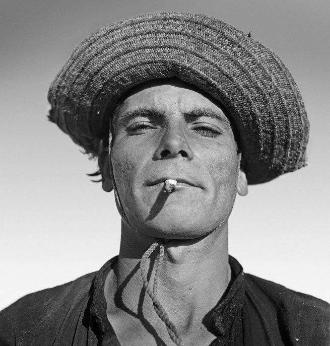 Marcel Gautherot (1910-1996) 'Jangadeiro, Aquiraz Ceará' 1950