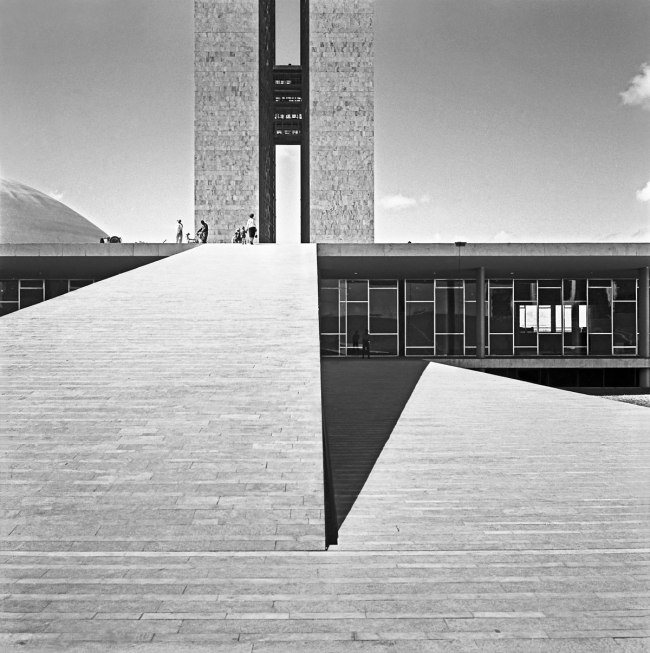 Marcel Gautherot (1910-1996) 'Palace of the National Congress, Brasília' 1960