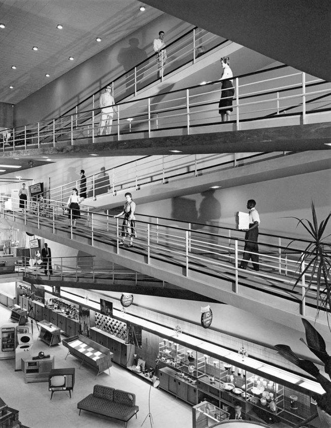 Hans Gunter Flieg (1923 -) 'Eletroradiobras Store (architectural project Majer Botkowski), São Paulo' c. 1956