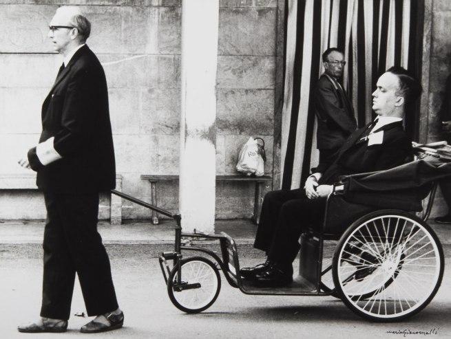 Mario Giacomelli. From the series 'Lourdes France, Lourdes' 1966