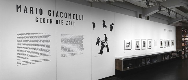 Installation view of the exhibition 'Mario Giacomelli. Against Time' at Fotomuseum WestLicht© WestLicht / Sandro E. E. Zanzinger