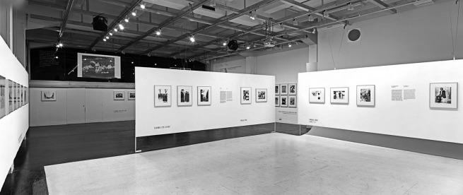 Installation view of the exhibition 'Mario Giacomelli. Against Time' at Fotomuseum WestLicht© WestLicht / Sandro E. E. Zanzinger