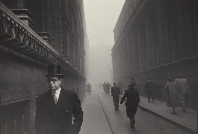 Robert Frank. 'City of London' 1951