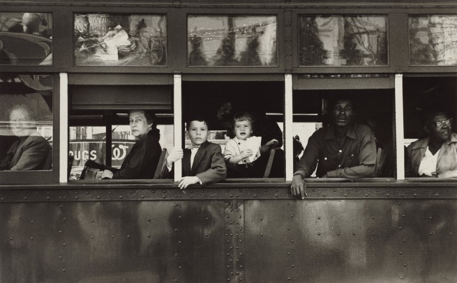 Robert Frank. 'Trolley - New Orleans' 1955