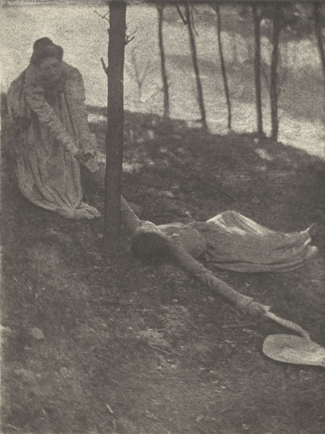 Clarence H. White. 'The Hillside' c. 1898