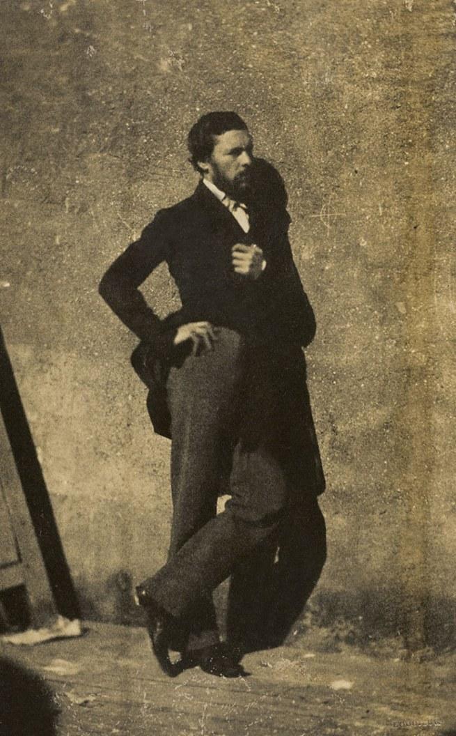 Lodoisch Crette Romet. 'A Lesson of Gustave Le Gray in His Studio' 1854