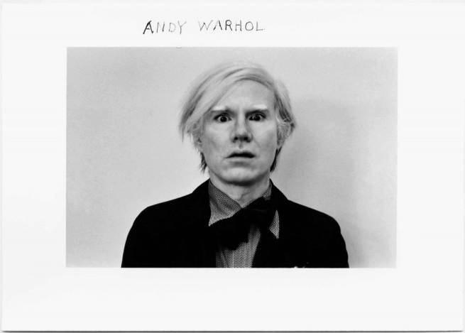 Duane Michals. 'Andy Warhol' 1972