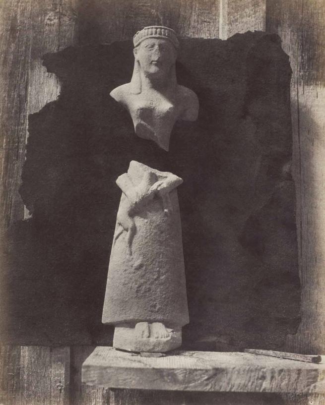 Auguste Salzmann. 'Terra Cotta Statuettes from Camiros, Rhodes' 1863