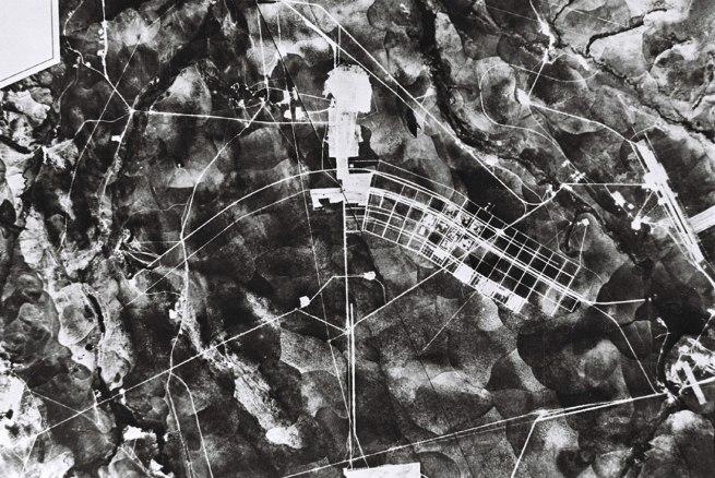 Brasilia under construction, 1957. Geofoto. Arquivo Publico do Distrito Federal