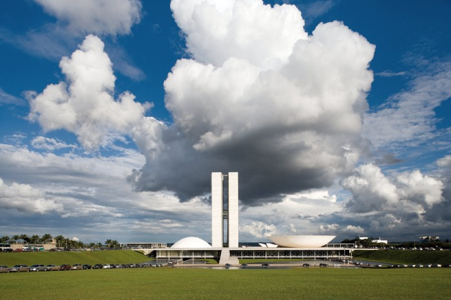 Lúcio Costa and Oscar Niemeyer. 'Plaza of the three powers, Brasilia, Brazil' 1958-1960