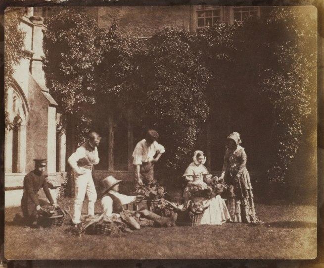 Calvert Jones. 'The Fruit Sellers' c. 1843