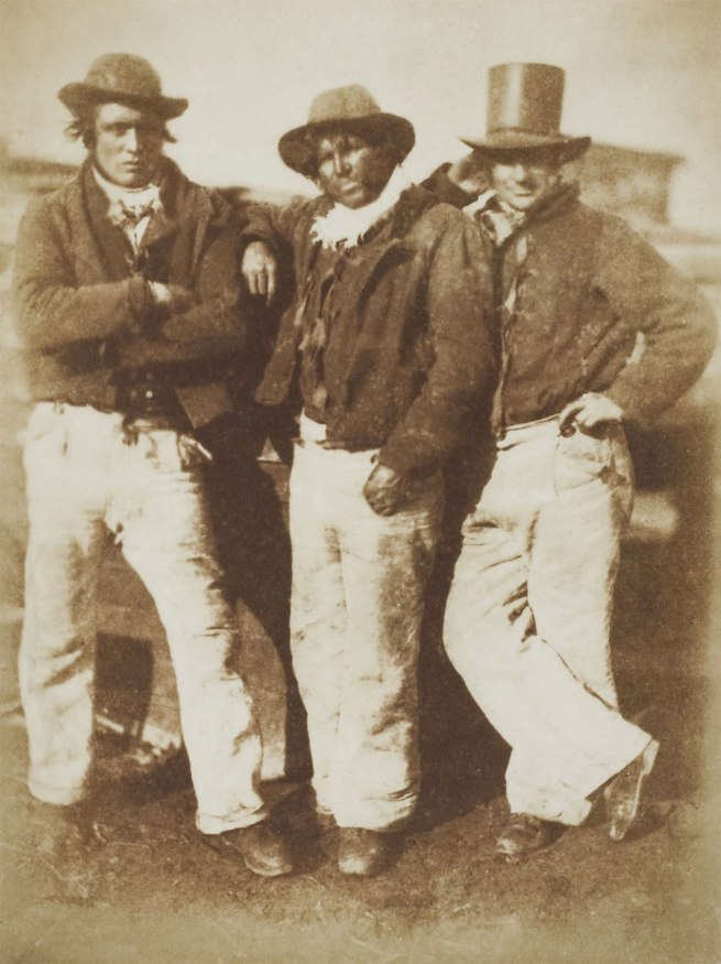 David Hill and Robert Adamson. 'Newhaven fishermen' c. 1845