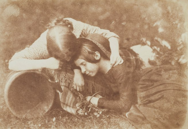 David Hill and Robert Adamson. 'The Gowan [Margaret and Mary Cavendish]' c. 1843-1848