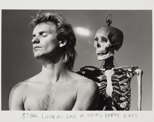Duane Michals. 'Sting' 1982