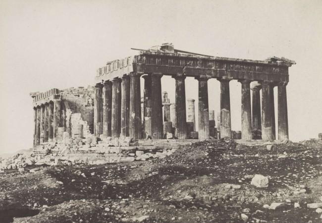 Eugene Piot. 'Le Parthénon de l'Acropole d'Athens' 1852