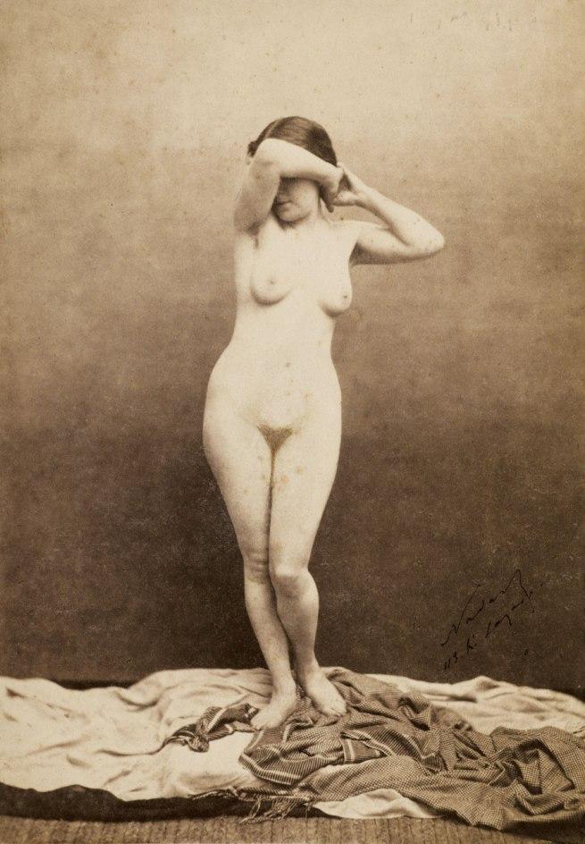 Félix Nadar. 'Mariette' c. 1855
