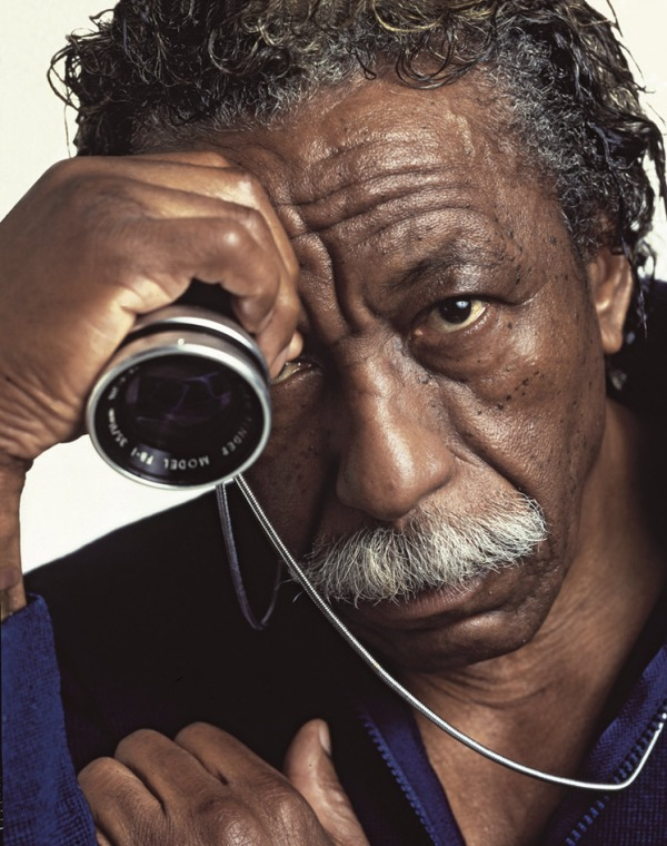 Carlos Eguiguren. 'Gordon Parks, New York' 1985