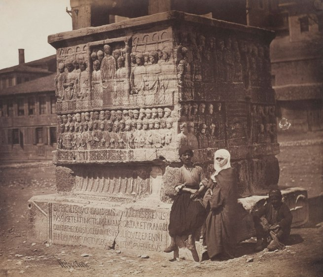 James Robertson. 'Base of the Obelisk of Theodosius, Constantinople' 1855