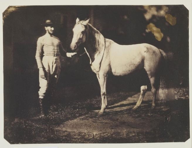 Jean-Baptiste Frénet. 'Horse and Groom'1855