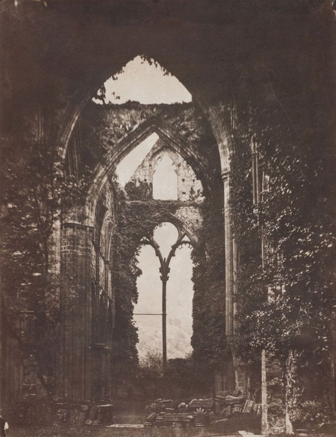 John Wheeley Gough. 'Gutch Abbey Ruins' c.1858