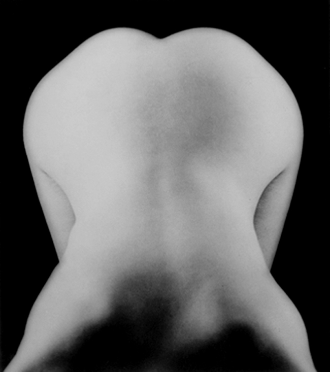 Lee Miller. 'Nude bent forward' 1930