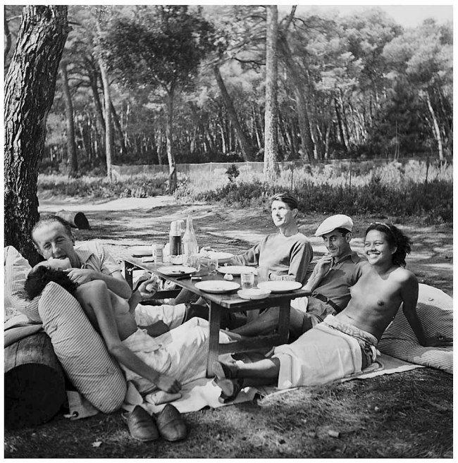 Lee Miller. 'Picnic, Ile Sainte Marguerite, France' 1937