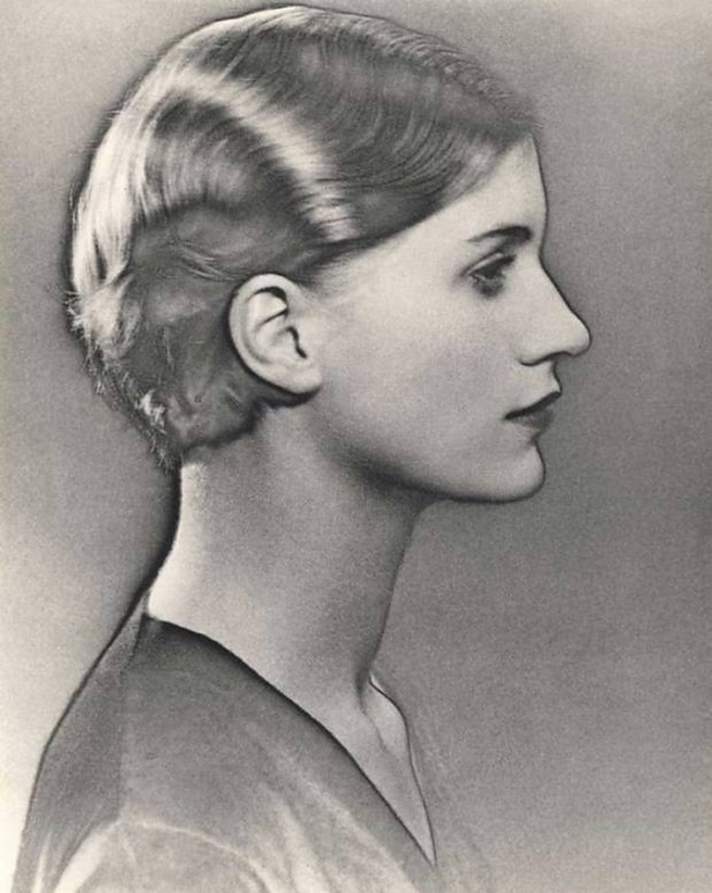 Man Ray. 'Solarised Portrait of Lee Miller' c. 1929