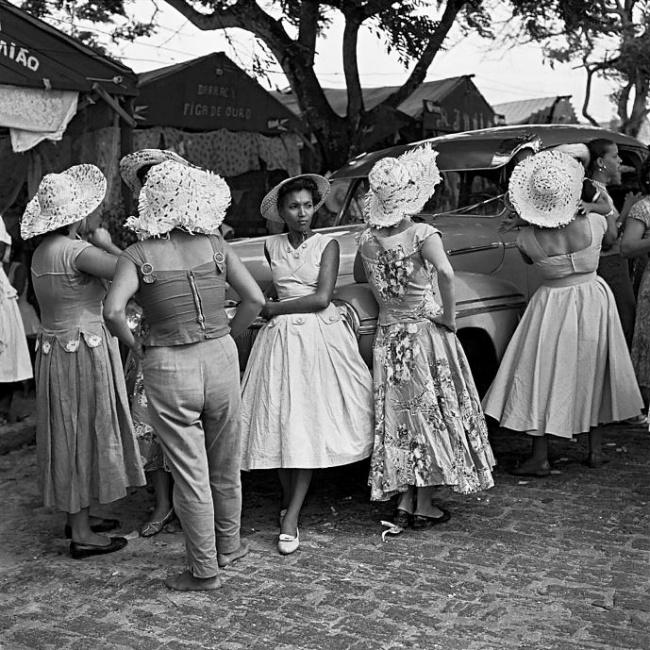Marcel Gautherot(Brazilian born France, 1910-1996) 'Festivities in the Ribeira district, Salvador' c. 1958