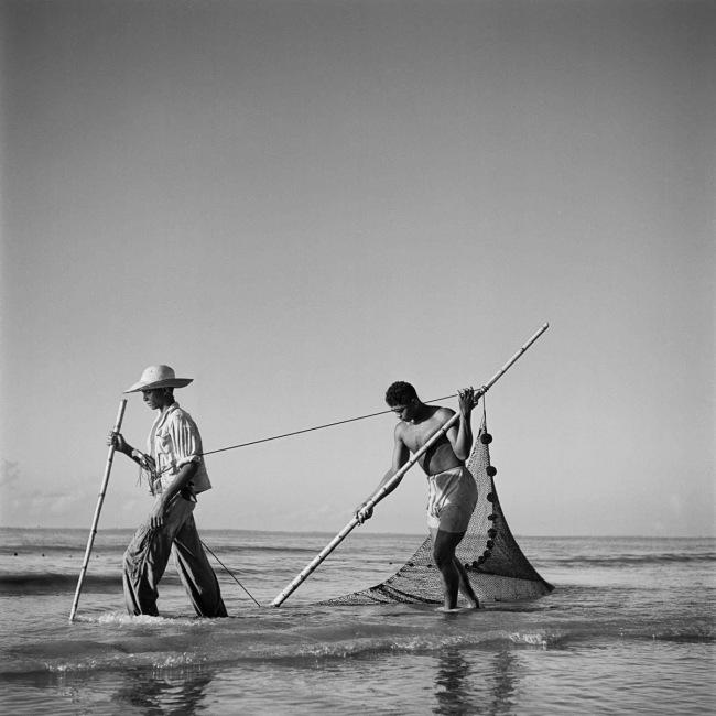Marcel Gautherot(Brazilian born France, 1910-1996) 'Fishermen at Ilha Mexiana, Chaves, PA. Brazil' c. 1943