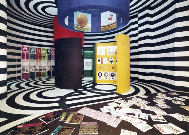 Eduardo Terrazas. 'Triennale di Milano, Mexican Pavilion' 1968
