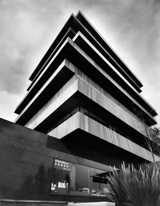 Juan Sordo Madaleno. 'Edificio Palmas 555, Mexico City, Mexico' 1975