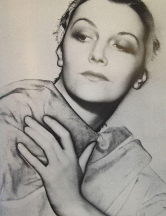 Lee Miller. 'Solarized Portrait of an unknown model' 1930