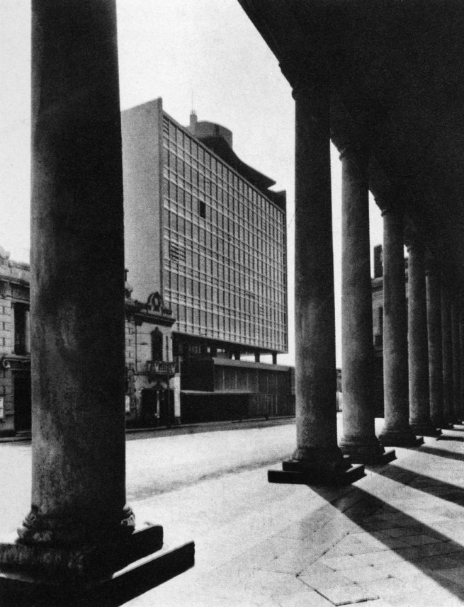 Walter Weberhofer Quintana. 'View of Atlas Building, Lima' 1953
