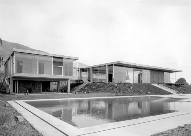 Miguel Rodrigo Mazuré. 'Chavez House, Lima' 1958
