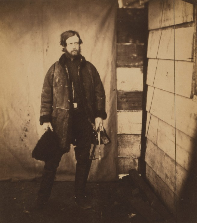 Roger Fenton. 'Captain Lord Balgonie, Grenadier Guards' 1855