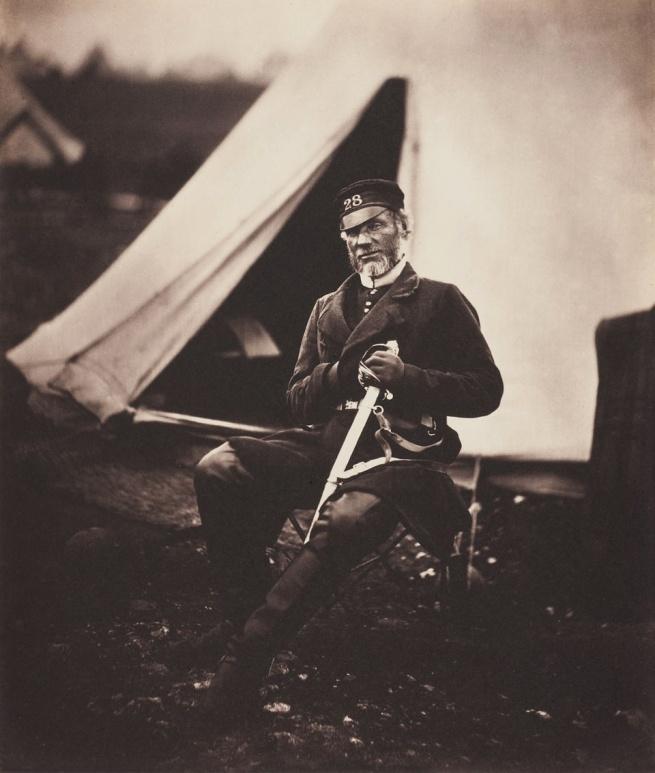 Roger Fenton. 'Captain Mottram Andrews, 28th Regiment (1st Staffordshire) Regiment of Foot' 1855