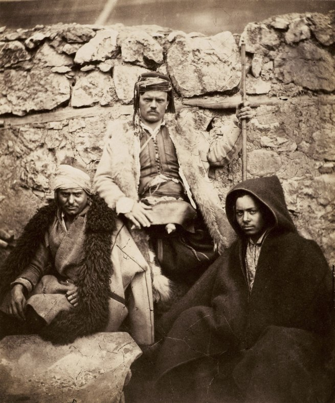 Roger Fenton. 'Group of Croat Chiefs' 1855