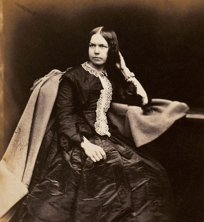 Roger Fenton. 'Portrait of a Woman' c. 1854