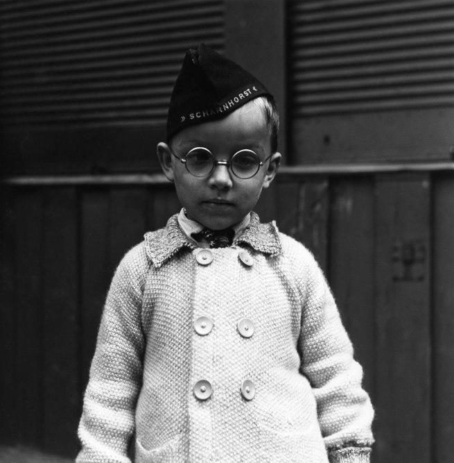 Lee Miller. 'Scharnhorst Boy, Vienna, Austria' 1945