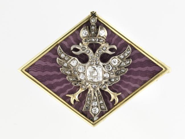 Russian. 'Imperial Diamond Brooch' 1890–1910