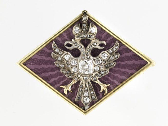 Russian. 'Imperial Diamond Brooch' 1890–1910