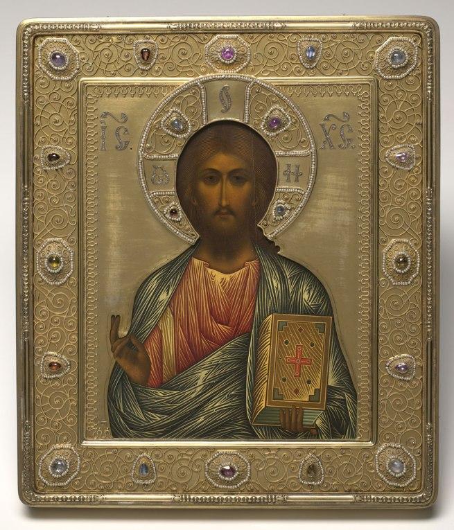 Peter Karl Fabergé (Russian, 1846-1920). 'Christ Pantocrator,' 1914–17
