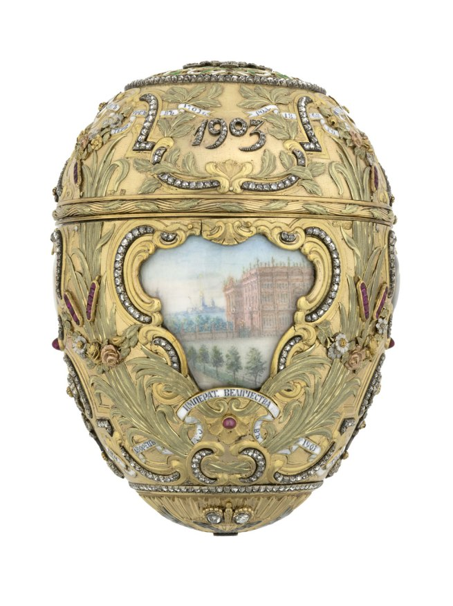 Peter Karl Fabergé (Russian, 1846–1920). 'Imperial Peter the Great Easter Egg' 1903